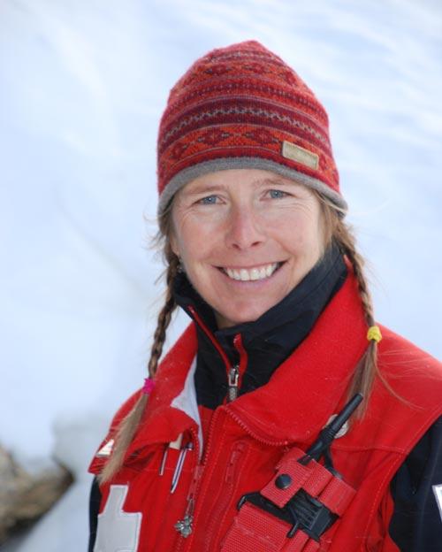 Arlene Cook, Ski Patrol