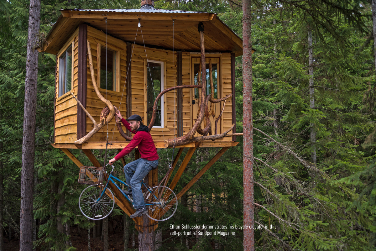Ethan And His Treehouse Sandpoint Magazine