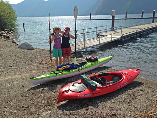 Circumnavigating Lake Pend Oreille,Kayaking Idaho, Camping