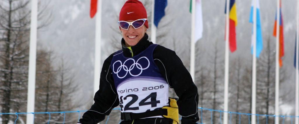 Olympian nordic skier